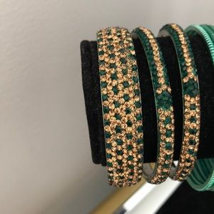 Jewelry - FREE W PURCHASE Sparkle Bangles